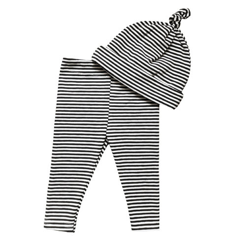 4 baby en kids Newborn setje thin stripe