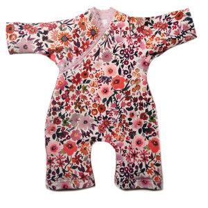 Kia Ora Doll Design Poppen speelpakje aquarell flower