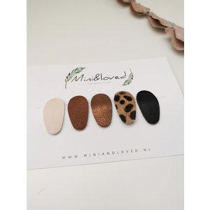 Mini & Loved Haarknipjes Noor - Setje Nela