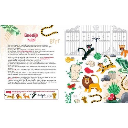 Lantaarn Zaklampboek - Speuren in de dierentuin