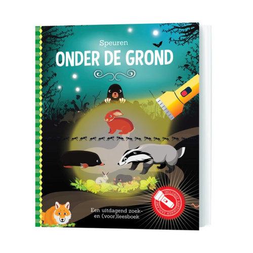 Lantaarn Zaklampboek - Speuren onder de grond