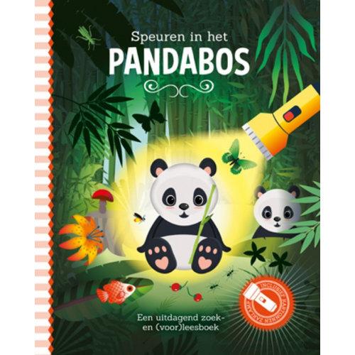 Lantaarn Zaklampboek - Speuren in het panda bos