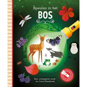 Lantaarn Zaklampboek - Speuren in het bos