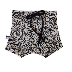 4 baby en kids Short zebra zand
