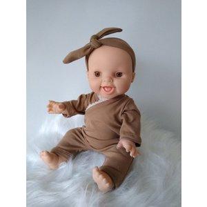 Kia Ora Doll Design Poppen speelpakje camel