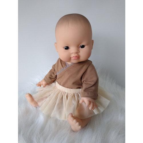 Kia Ora Doll Design Poppen tutu zand