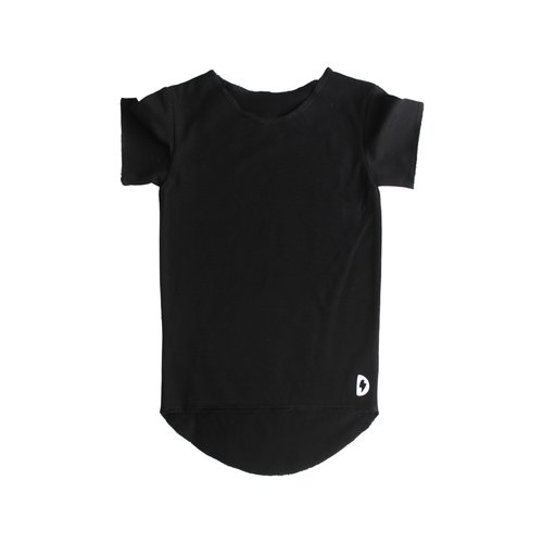Deugniet Long fit shirt black