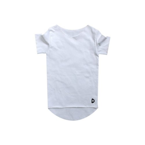 Deugniet Long fit shirt white