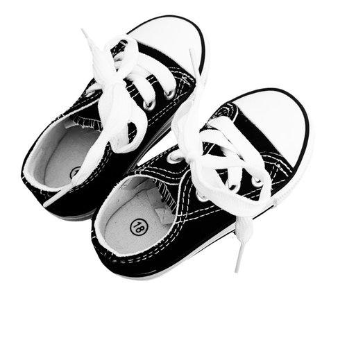 Basic sneaker black