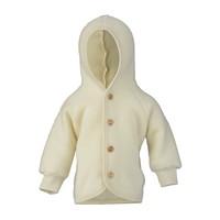 Hooded jasje wool natural