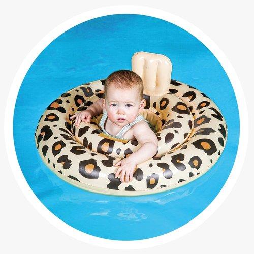 Swim Essentials Leopard baby float