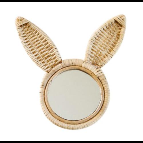 Kidooz Rotan spiegel konijn (20 cm)