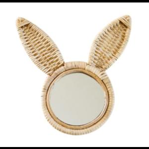 Kidooz Rotan spiegel konijn (35 cm)