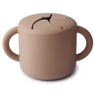 Mushie Snack cup natural