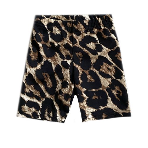 Bicycle short leopard