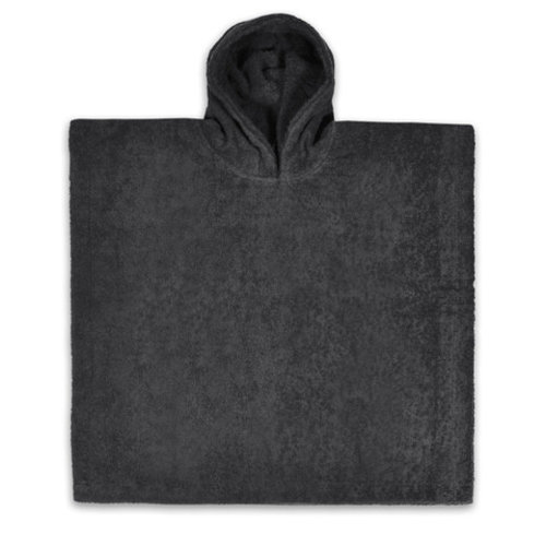 Bad poncho dark grey