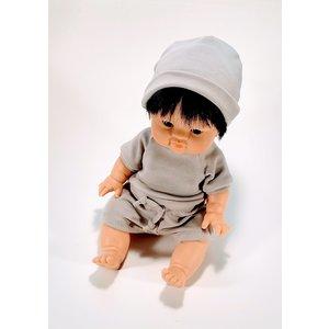 Kia Ora Doll Design Poppen broekje mauve