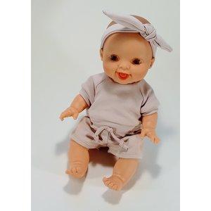 Kia Ora Doll Design Poppen broekje peony