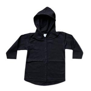 Long vest black