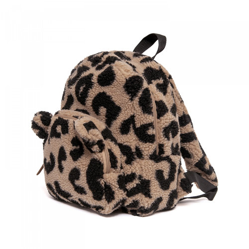 Petit Monkey  Backpack teddy leopard