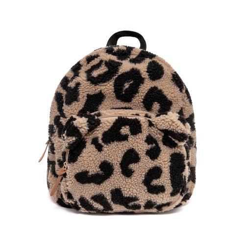 Petit Monkey  Backpack teddy leopard