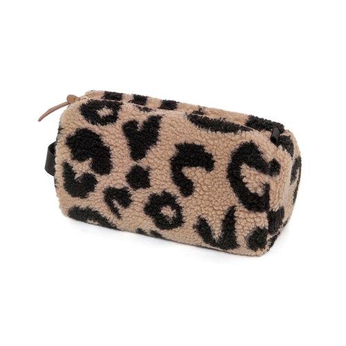 Petit Monkey  Etui teddy leopard