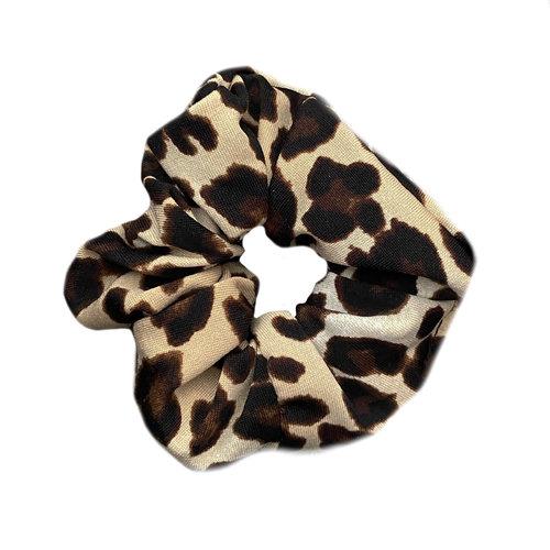 4 baby en kids Scrunchie leopard brown