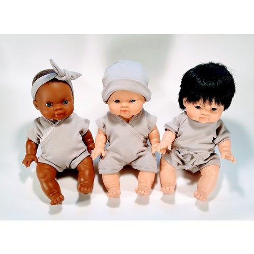 Kia Ora Doll Design Poppen haarbandje mauve