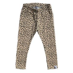4 baby en kids Legging cheetah dots