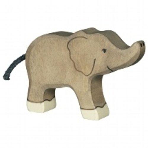 Holztiger Kleine olifant