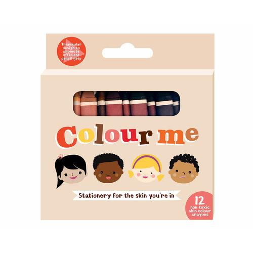 Colour me Colour me kids 12 skin crayons