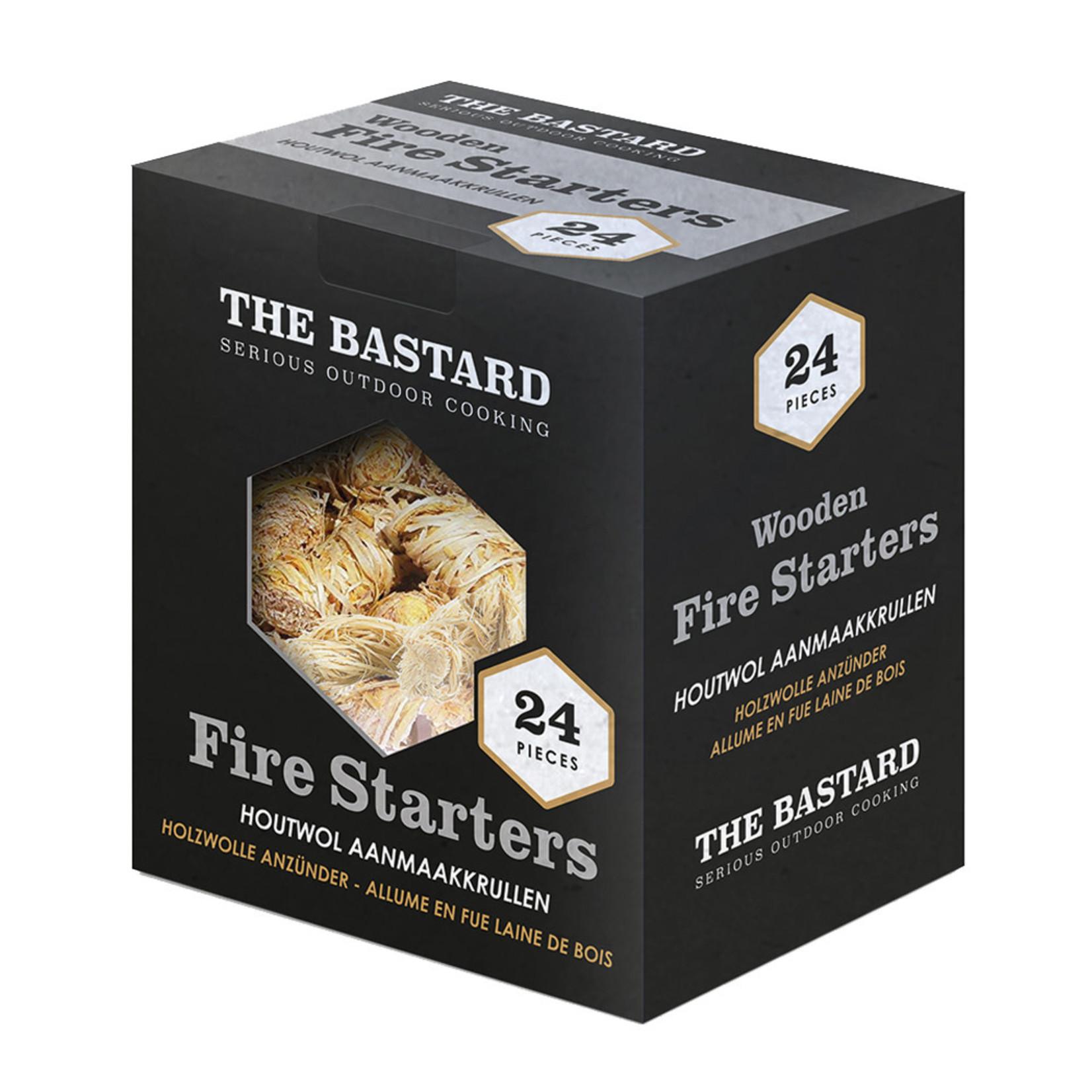 The Bastard The Bastard Wooden Fire Starters 24st 350gr