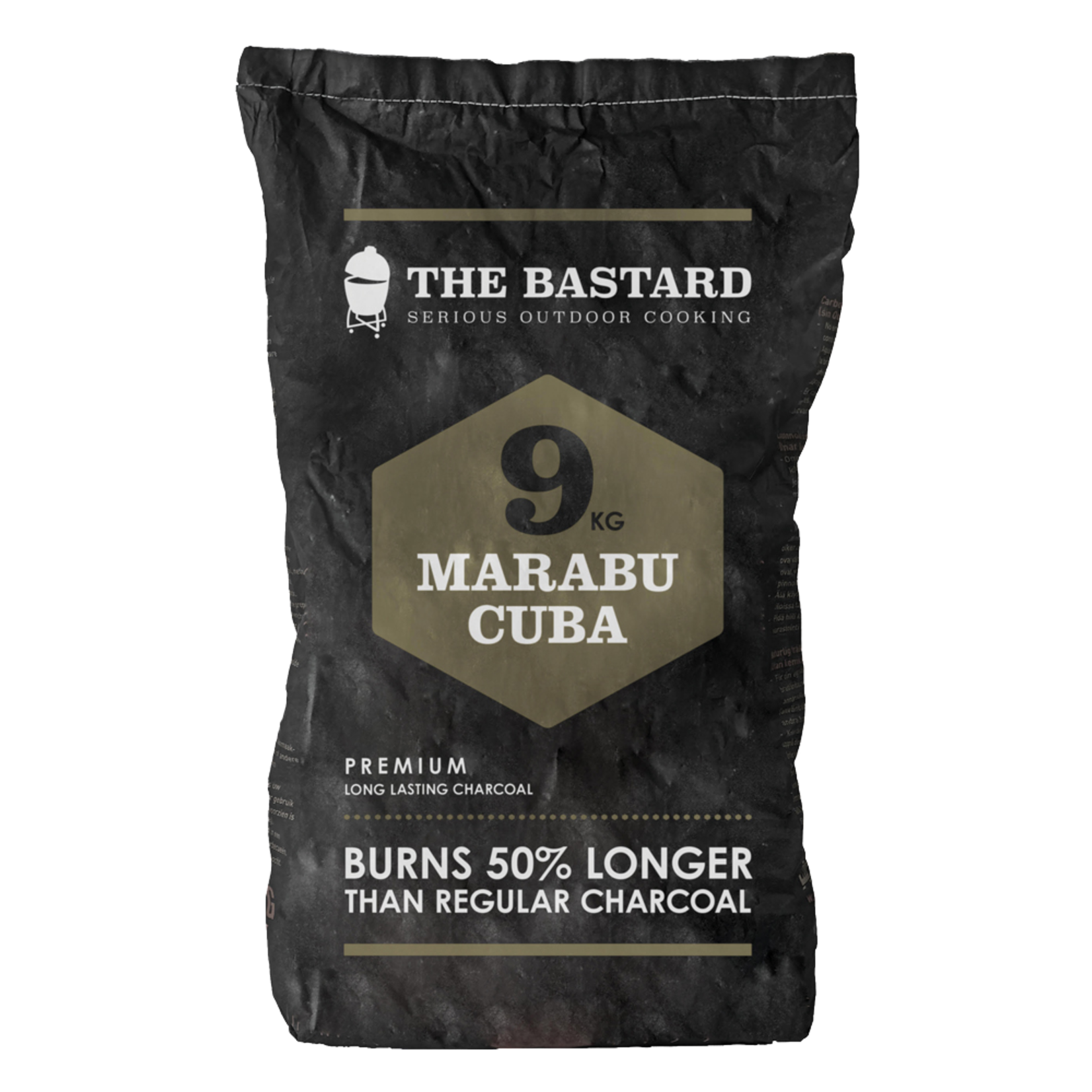 The Bastard The Bastard Charcoal Marabu 9 KG