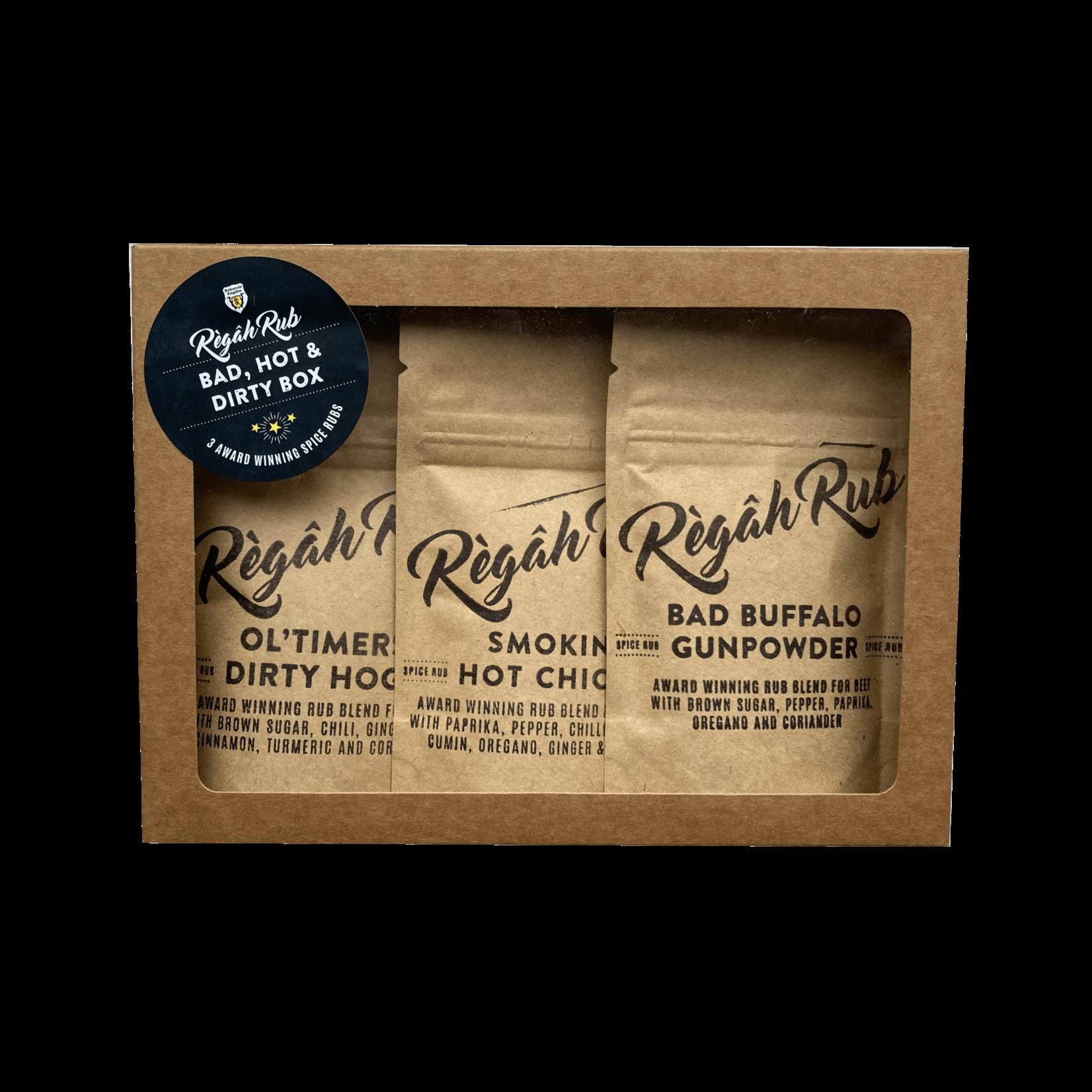 Règâh Rub Règâh Rub Bad, Hot & Dirty Box