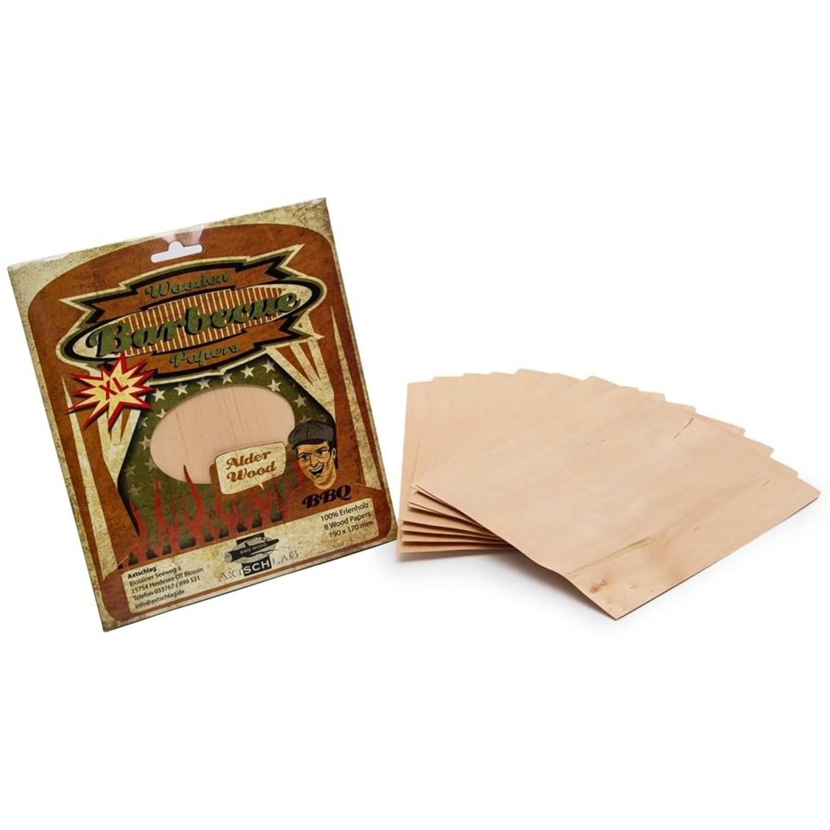 Axtschlag Axtschlag wood bbq papers Alder wood