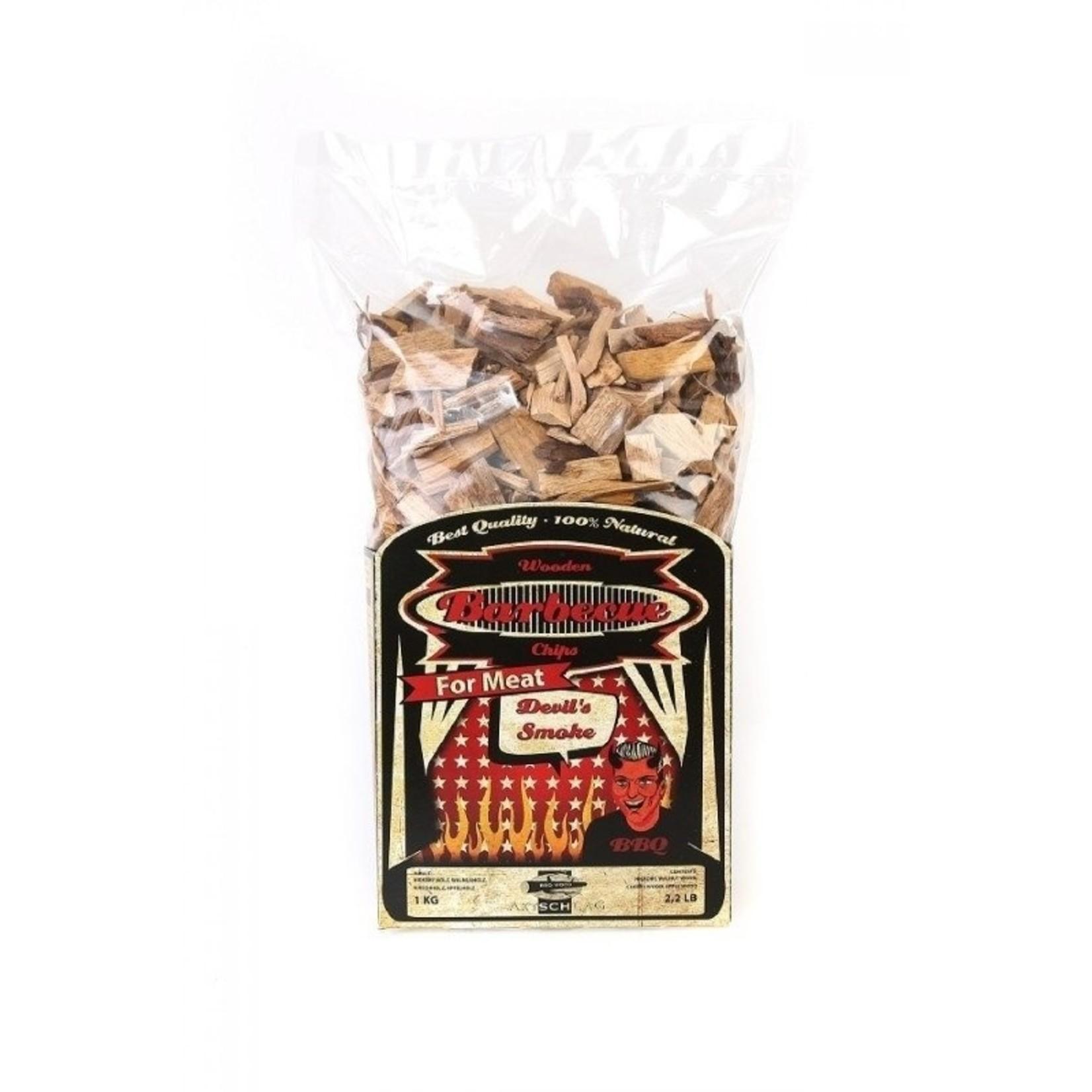 Axtschlag Axtschlag wood bbq chips Devils smoke