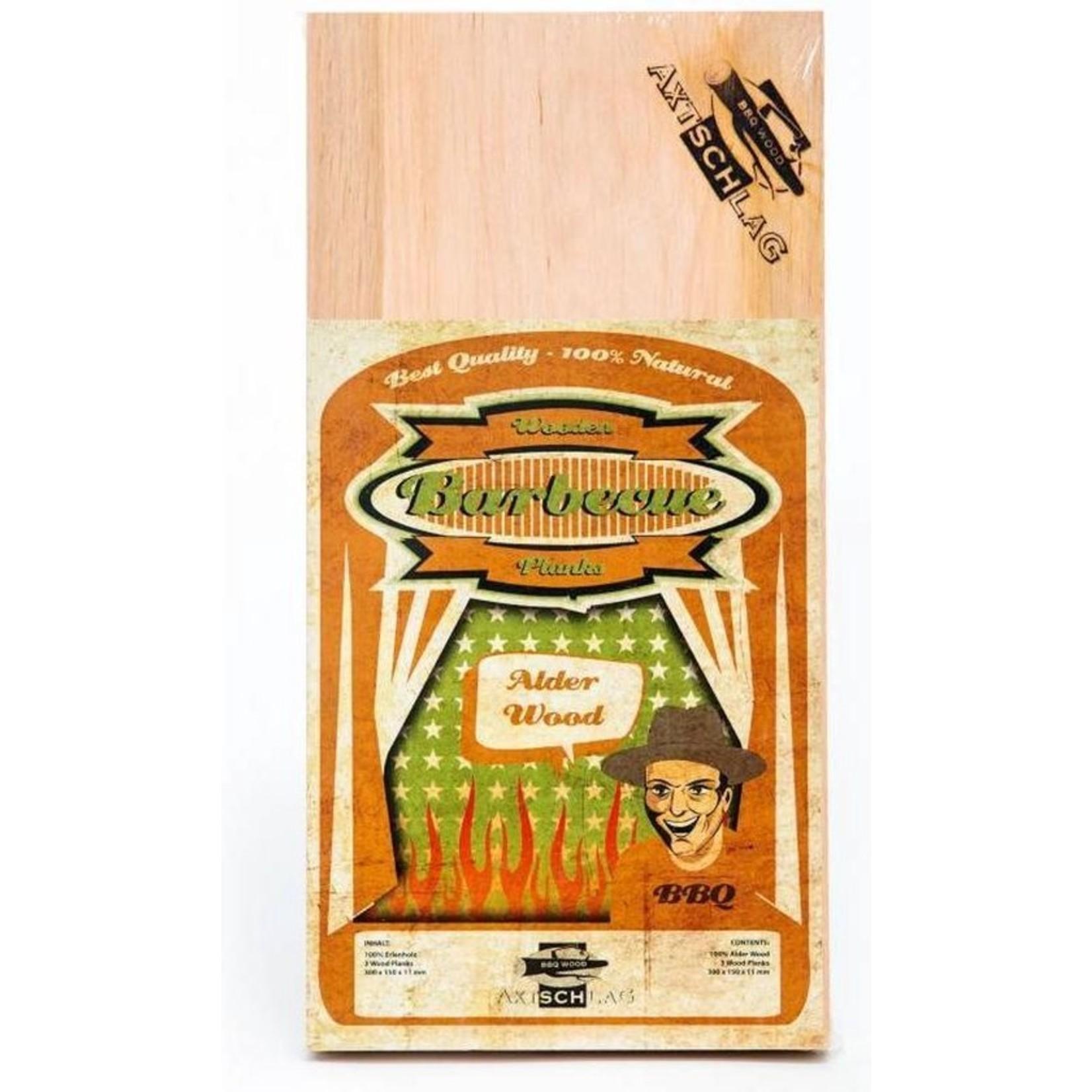 Axtschlag Axtschlag bbq plank alder wood
