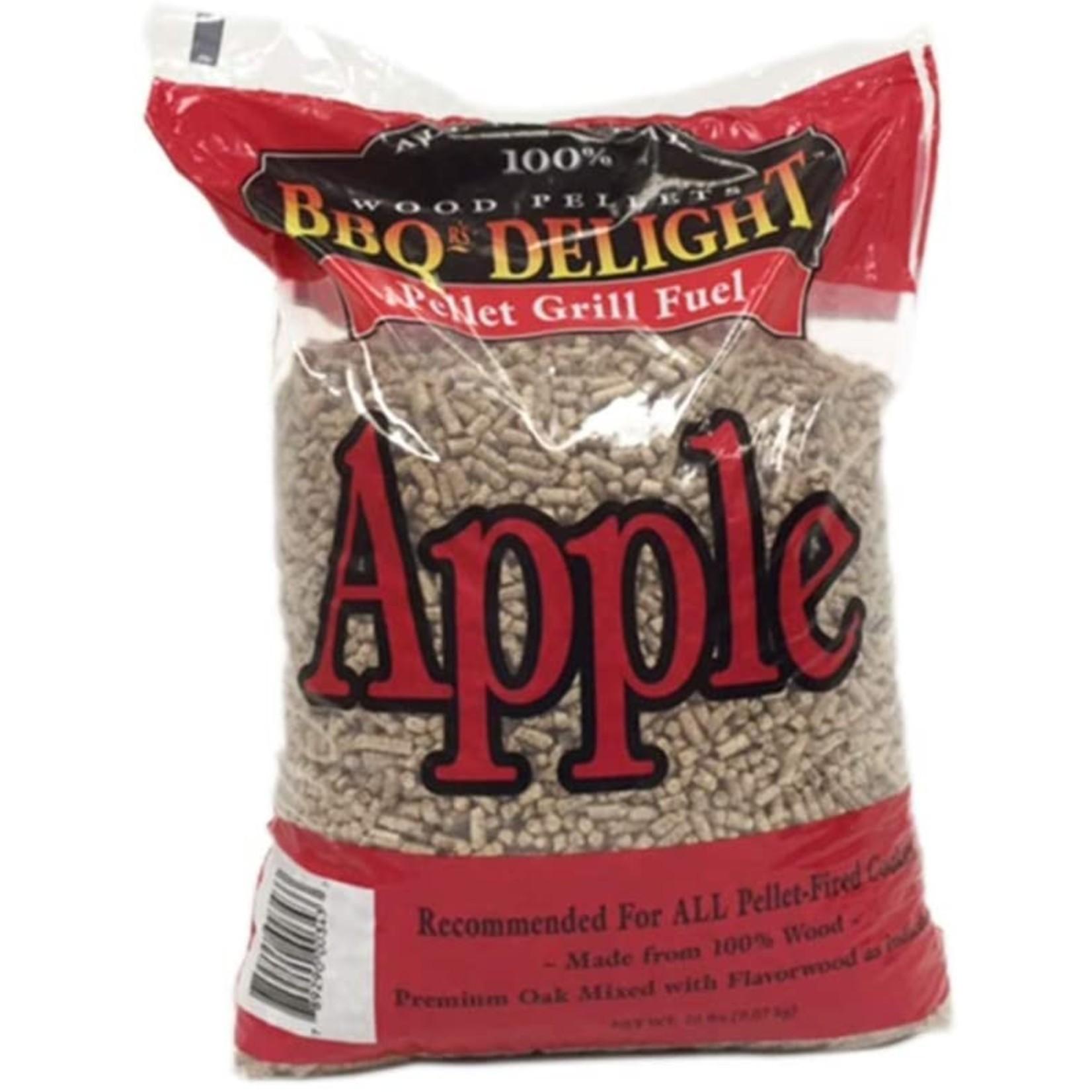 BBQrs Delight Pellet grill fuel Apple