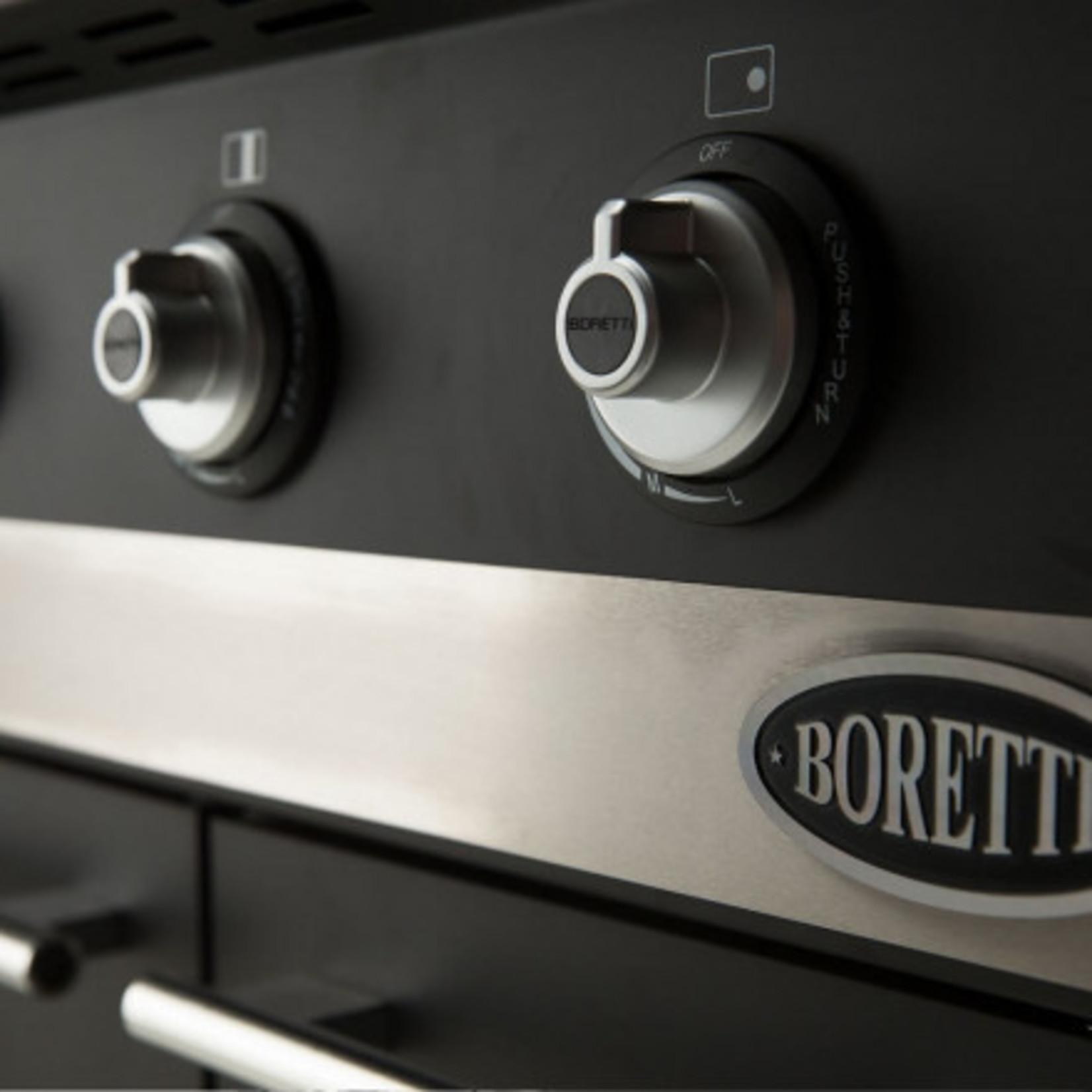 Boretti Boretti Ibrido gas/houtskool
