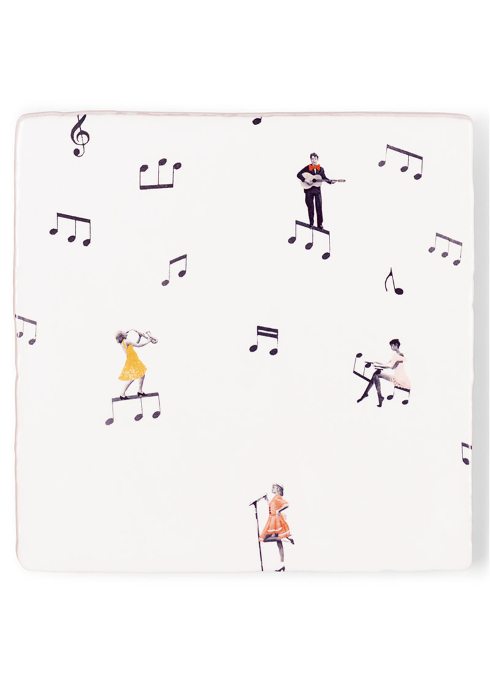 Storytiles There's music in the air 13x13cm