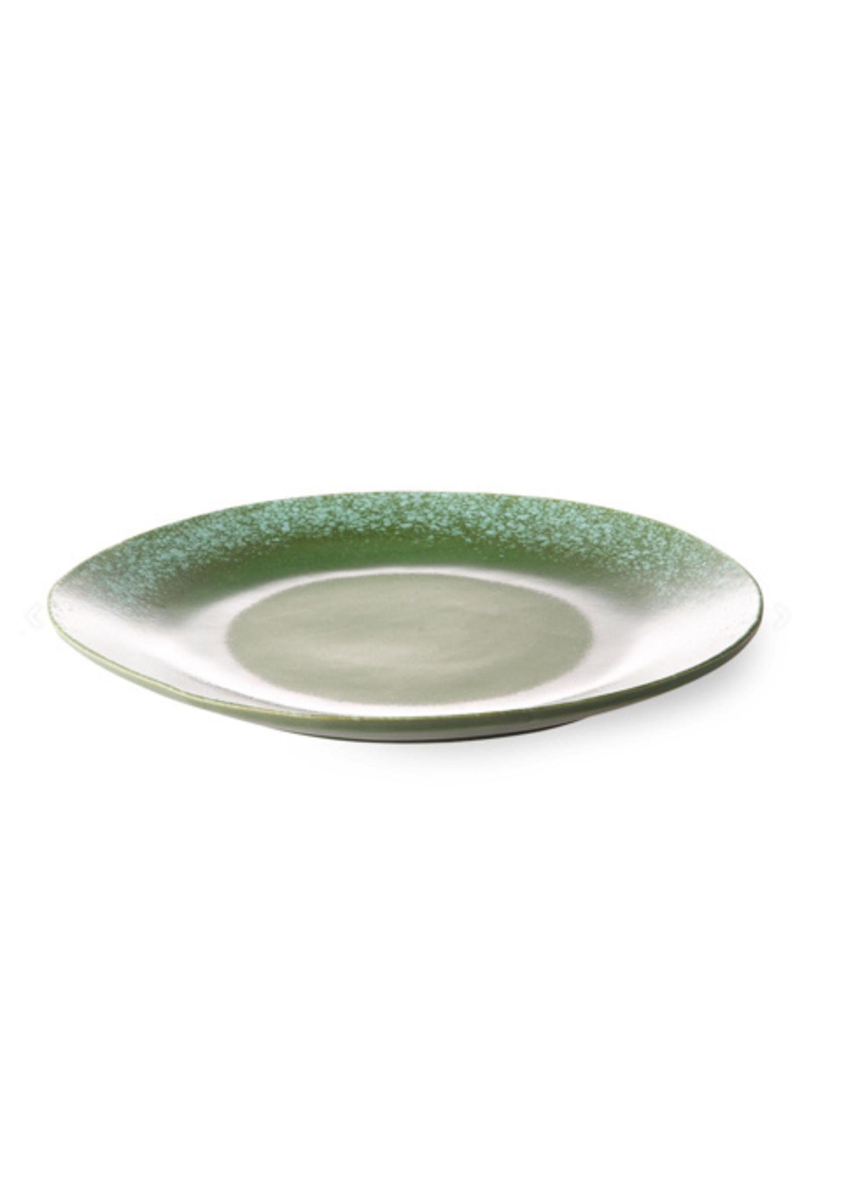 HKliving Dinner plate green