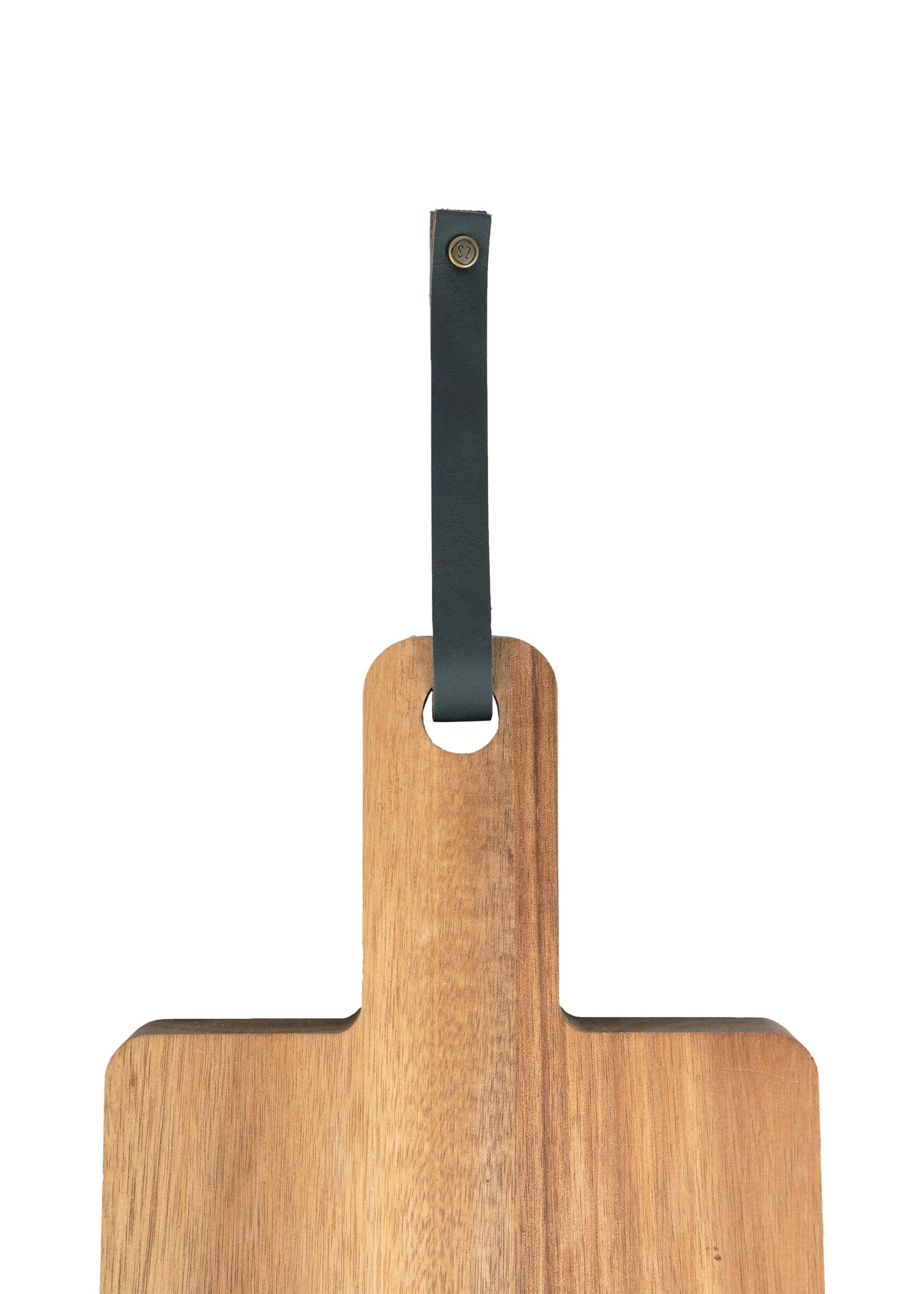 Zusss Houten serveerplank 30x14cm