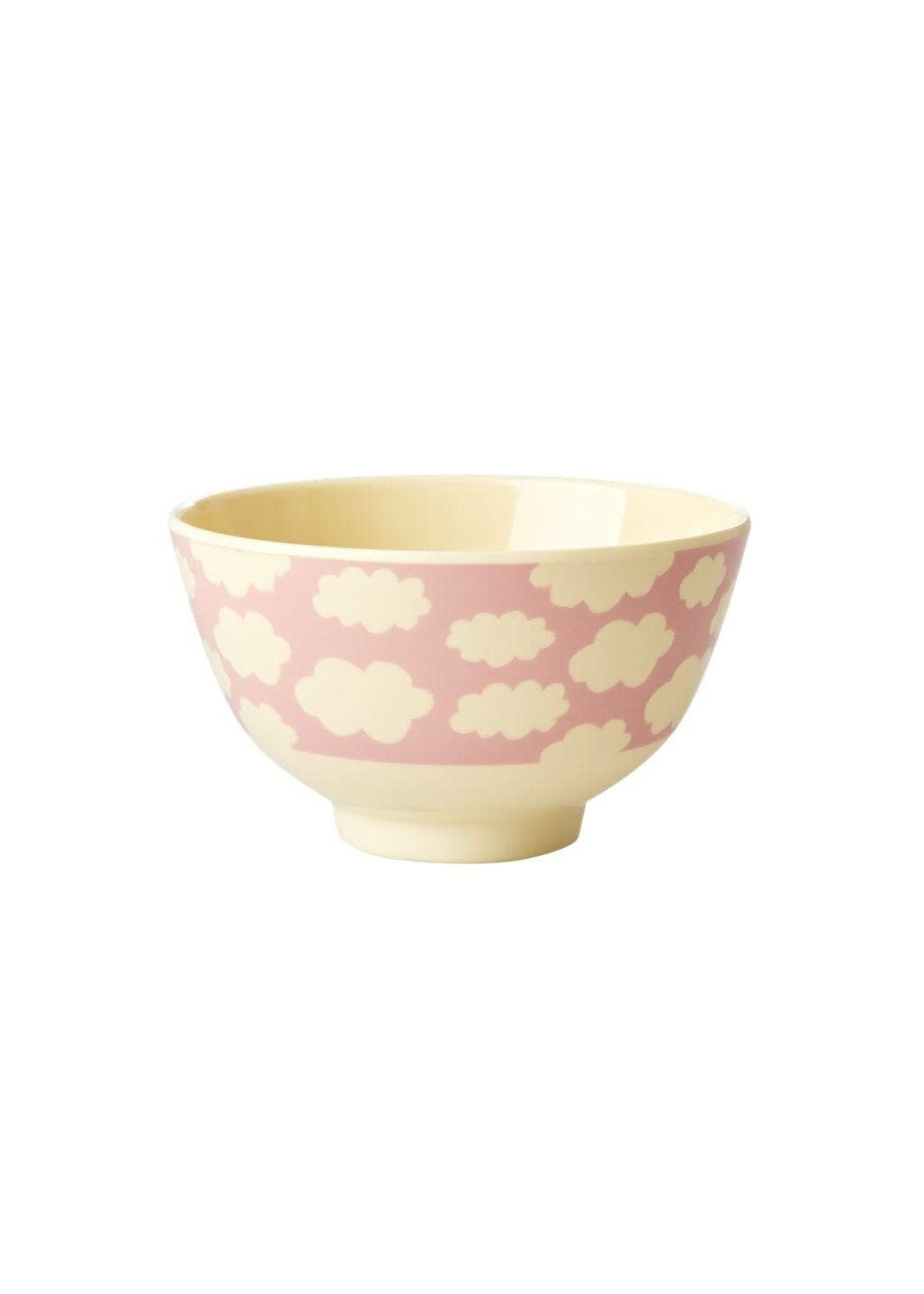 Rice Kom roze wolken