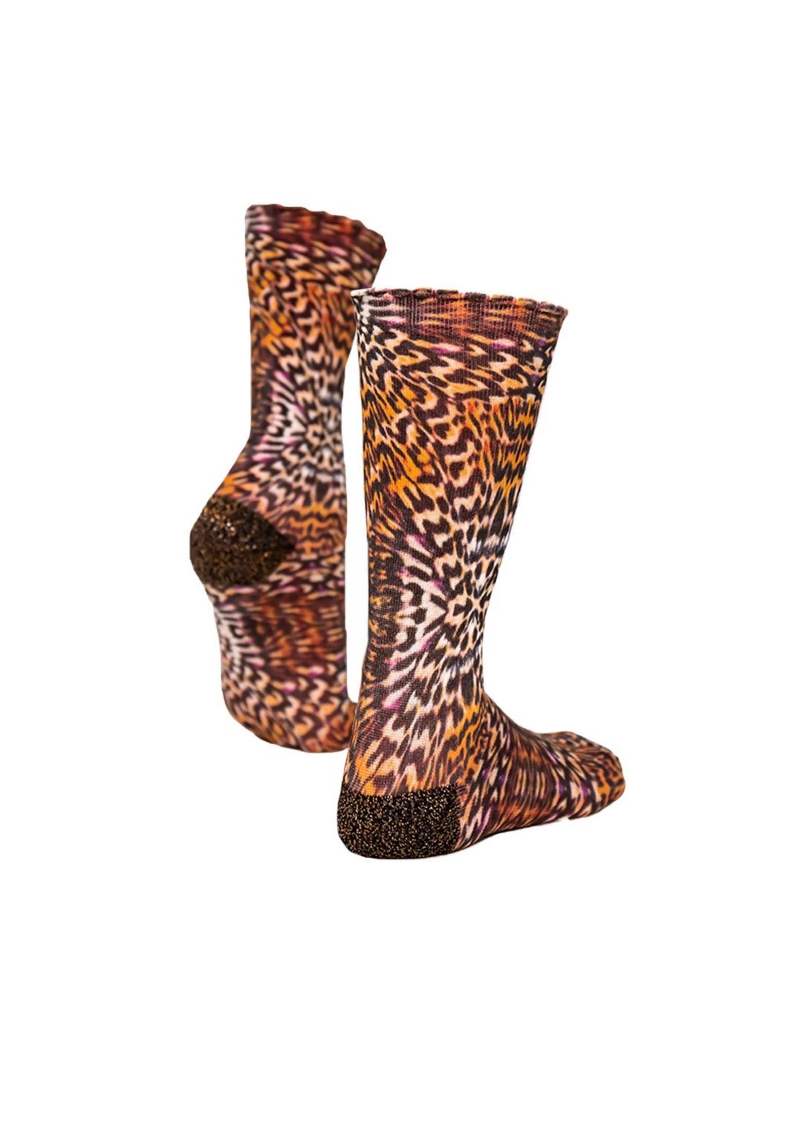 Sock my feet Sokken My Leopard Skin