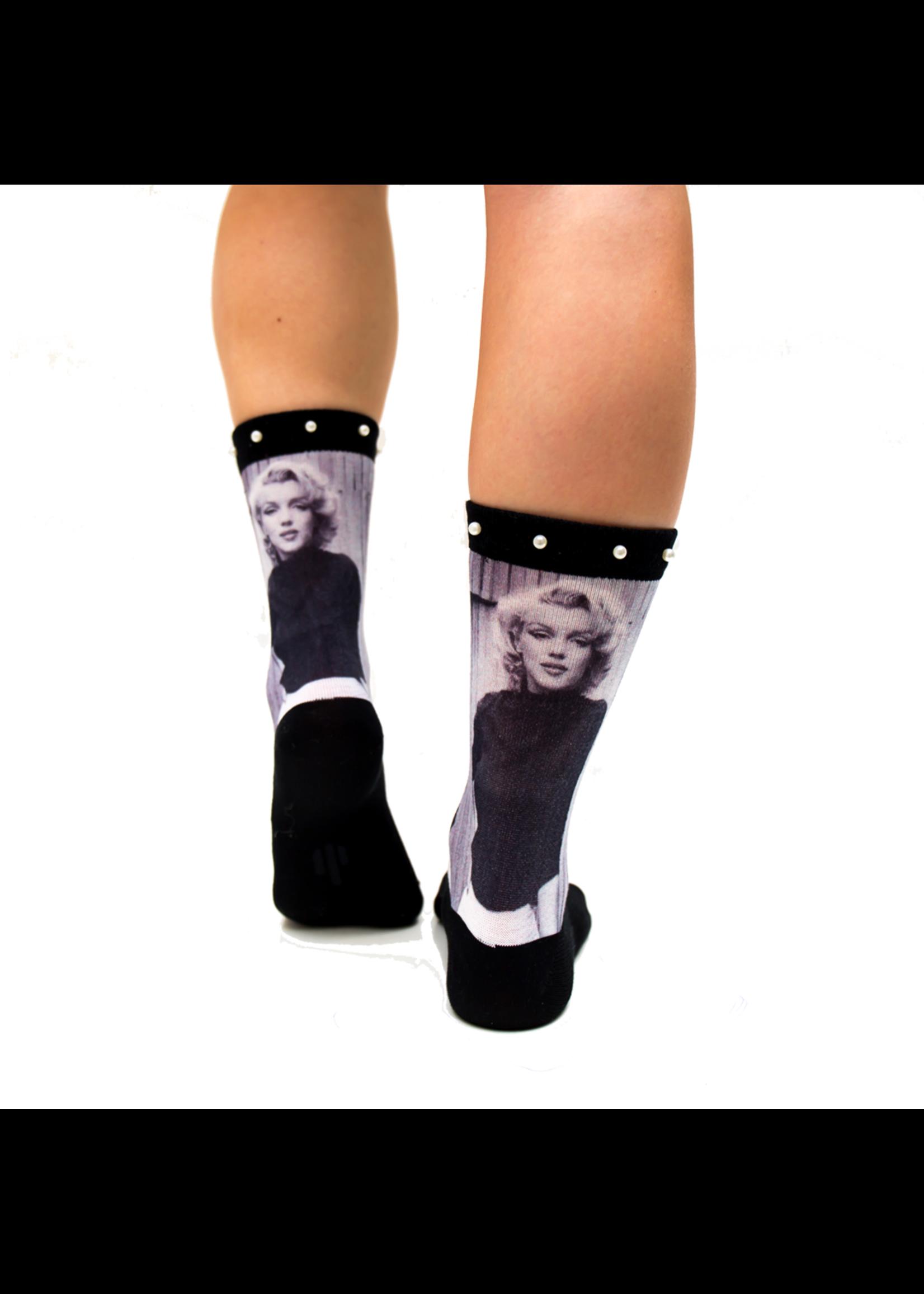 Sock my feet Sokken Mijn Marilyn