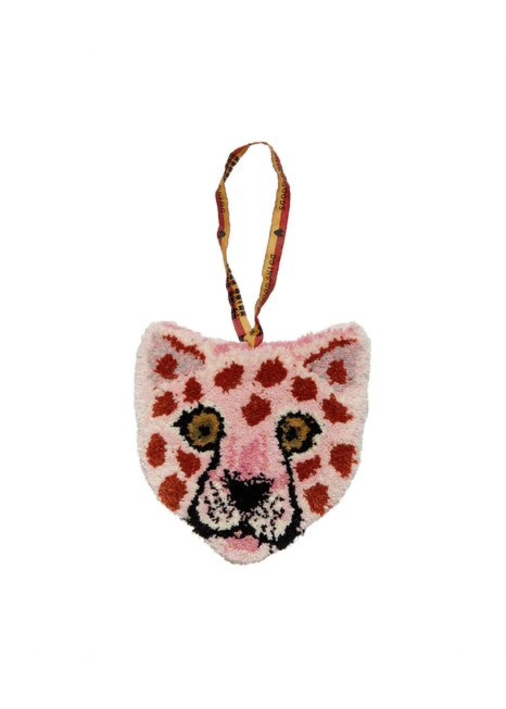 Doing Goods Pinky luipard dierenkop hanger