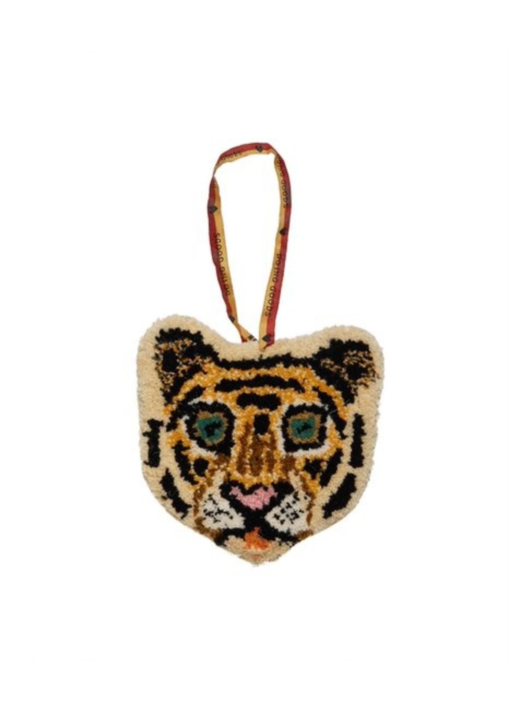 Doing Goods Cloudy tiger dierenkop hanger