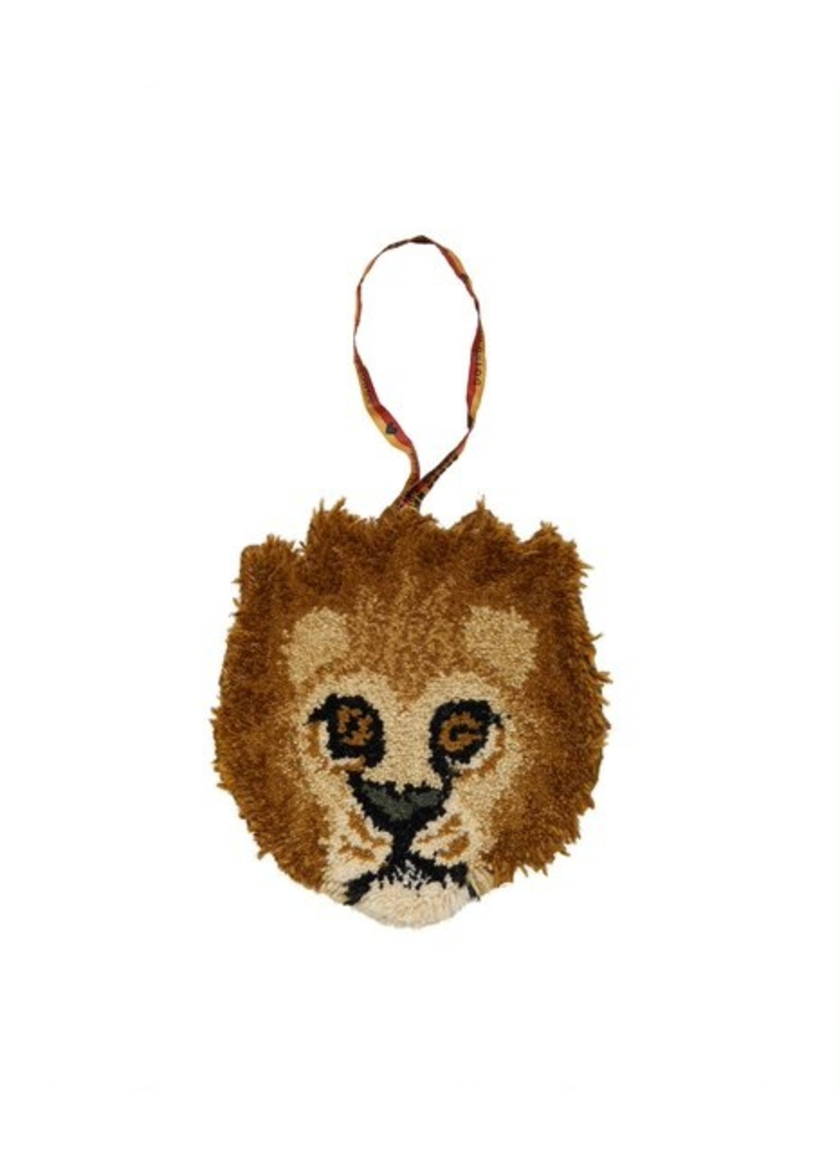 Doing Goods Moody leeuw dierenkop hanger