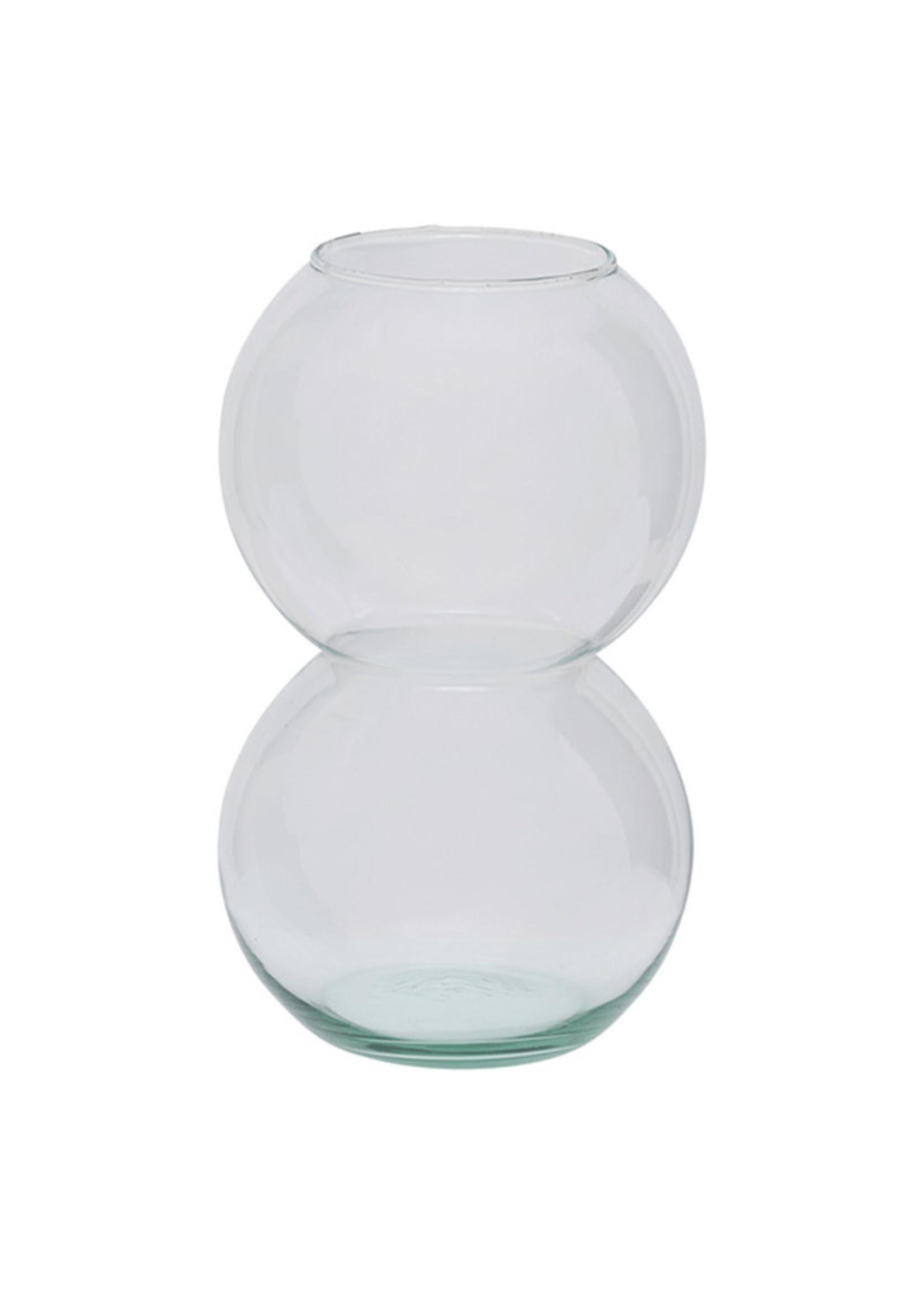 Urban Nature Culture Vaas Bulb transparant gerecycled glas