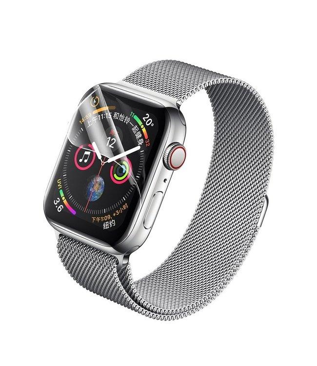 Rock 2x Stuks Apple iWatch 4/5/6/SE (44 mm) Hydrogel Bescherm Folie 2x Stuks Apple iWatch 4/5/6/SE (44 mm) Hydrogel Bescherm Folie